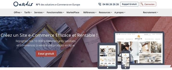 4 raisons de choisir Oxatis pour le référencement d'un site e-commerce