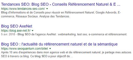 Google (re) passe les meta description à 160 caractères